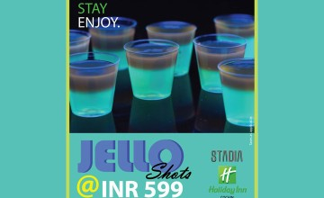 Jello Shots at just 599/- for Three