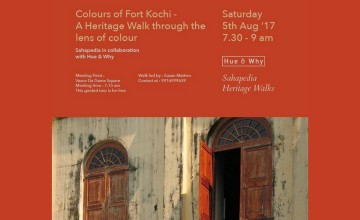 Colours of Kochi- A Heritage Walk Through the Lens of Colour