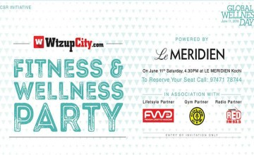 WtzupKochi Fitness & Wellness Party