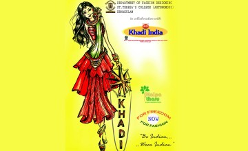 Khadi Fashion Show at St. Teresa's College