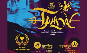 Tandav - College Fest by Sacred Heart College