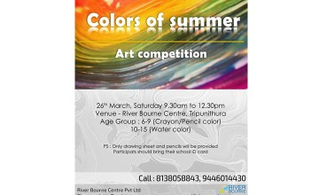 Colors of summer - Art competition