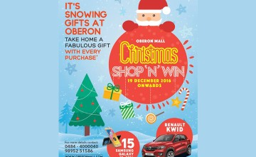 Shop and Win on Christmas