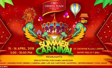 Summer Carnival at Crowne Plaza