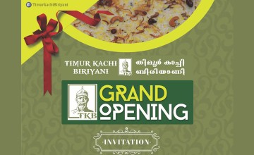 Grand Opening of Timur Kachi Biriyani
