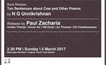 Book Release - Ten Sentences about Cow and other Poems