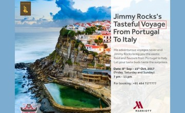 Jimmy Rocks's  Tasteful Voyage From Portugal to Italy - Food Fest