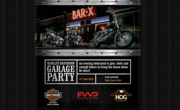 Harley Davidson Garage Party Kochi