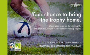 Shoot the Rain -Dominic Joseph Memorial Football Tournament