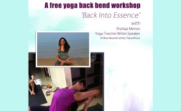A free Back bend Yoga Session