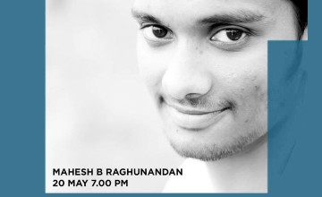 Mahesh B Raghunandan at The Muse Room