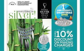 Discount on Making Charges at Pooja Silver Square