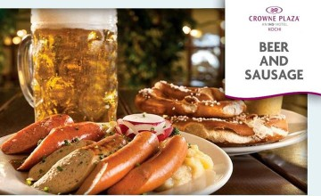 Beer and Sausage Food Fest at Crowne Plaza