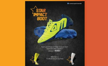 Cosmo Sports Offer with Impact Boots