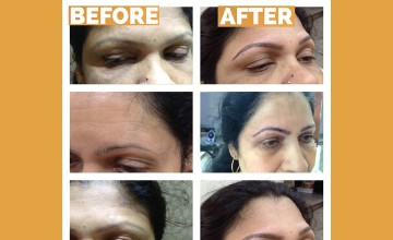 Permanent Eyebrow Tattooing