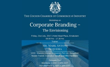 Workshop On Corporate Branding - The Envisioning
