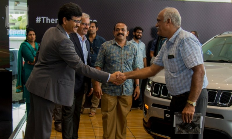 Kochi witnesses a grand launch of the Made In India Jeep Compass