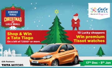 Shop and Win a Tata Tiago