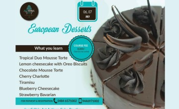 European Desserts - Cooking Workshop