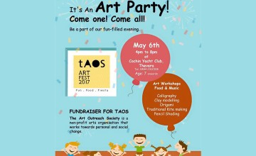 Art Party by TAOS - Workshops Food and Music
