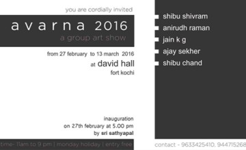 AVARNA exhibition by five artists