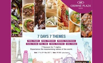 7 Days 7 Themes - Food Fest by Crowne Plaza