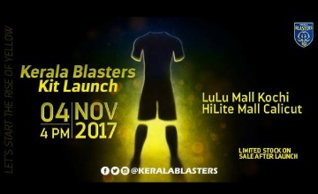 Kit Launch | Kerala Blasters FC