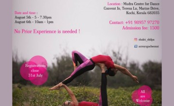 Acroyoga Workshop With Shakti Shilpa