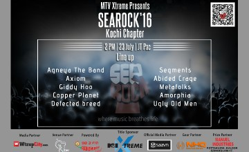 Searock 2016 Kochi Elimination - May the best rock band win!