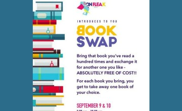 On Flea.k Presents Book Swap