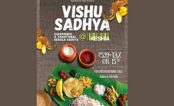 Vishu Sadhya At Radisson Blu