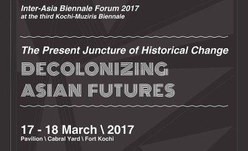The Present Juncture of Historical Change: Decolonizing Asian Futures - Talk