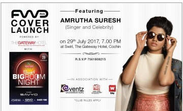 FWD Cover Launch Featuring Amrutha Suresh