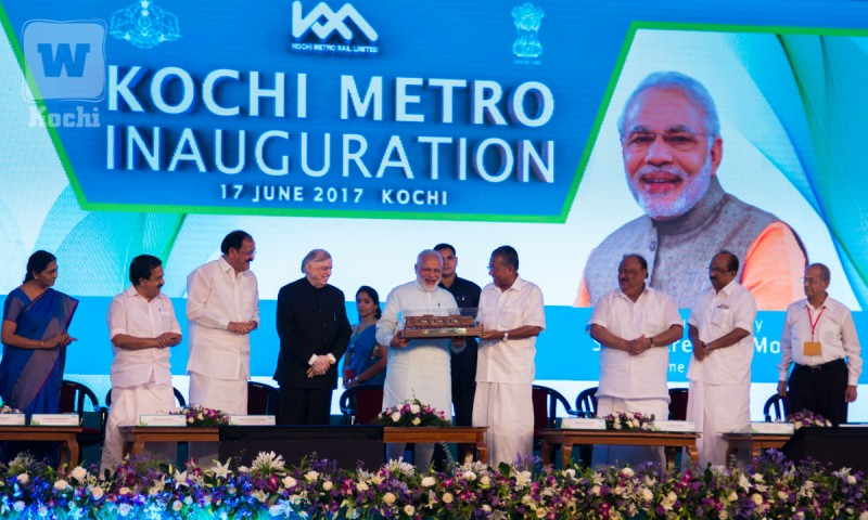 Kochi On Track: Kochi Metro Inaugurated By PM Modi