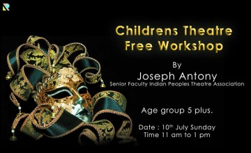 Childrens theatre free workshop