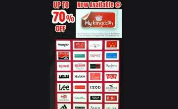 Upto 70% Off at My Kingdom