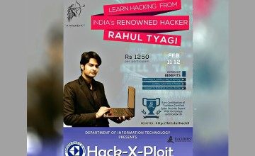Hack-X-Ploit Workshop - Ethical Hacking Workshop