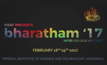 Bharatham 2K17 - Inter College Art Fest