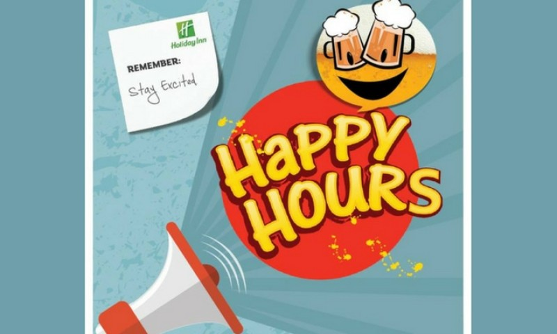 Happy Hours At  Holiday Inn