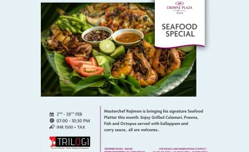 Seafood Special at Crowne Plaza