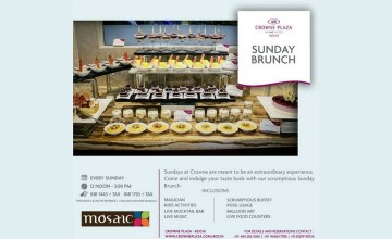 Sunday Brunch By Crowne Plaza Kochi