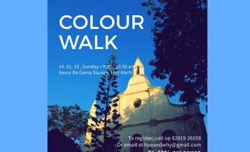 Colour Walk by Hue & Why