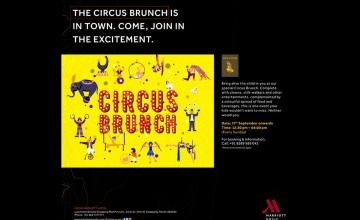Circus Brunch By Kochi Marriott
