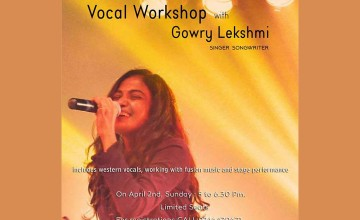 Vocal Workshop with Gowry Lekshmi