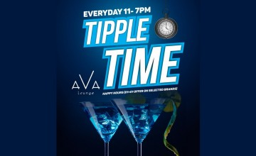 Tipple Time At Ava Lounge