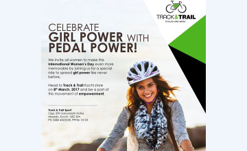 Women's Day Ride- Girl Power with Pedal Power