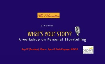 Workshop on Personal Storytelling