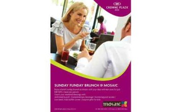 Sunday funday brunch at Crowne Plaza