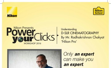 Nikon presents Power your clicks workshop 2016