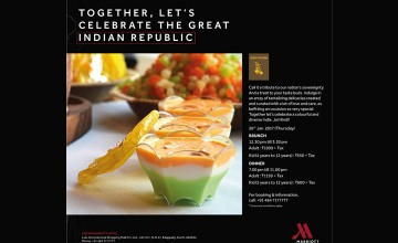 Republic Day Brunch by Kochi Marriott